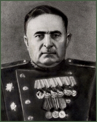 Portrait of Major-General of Artillery Karapet Vardanovich Akhnazarian