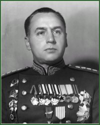 Portrait of Army General Aleksei Innokentevich Antonov