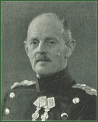 Portrait of Major-General Erik Baron Bille-Brahe