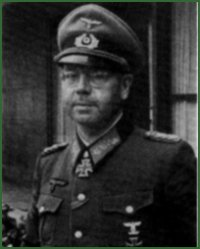 Portrait of General of Panzer Troops Erich Brandenberger
