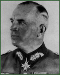 Portrait of Field Marshal Ernst Busch