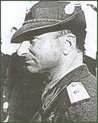 Portrait of Major-General Mario Carloni