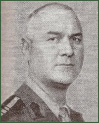 Portrait of Major-General Gheorghe Cosma