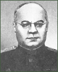 Portrait of Lieutenant-General of Technical Troops Mikhail Vasilevich Danchenko