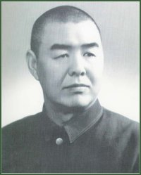 Portrait of Lieutenant-General  Deng Baoshan