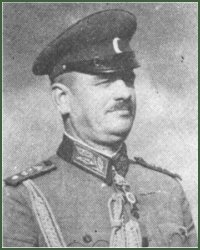 Portrait of Major-General Angel Georgiev Dotsev