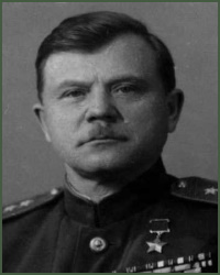 Portrait of Colonel-General of Engineers Ivan Pavlovich Galitskii