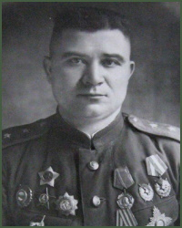 Portrait of Army General Andrei Lavrentevich Getman