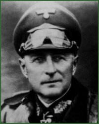 Portrait of General of Panzer Troops Leo Baron Geyr von Schweppenburg