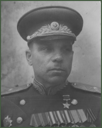 Portrait of Major-General Vasilii Fedorovich Gladkov