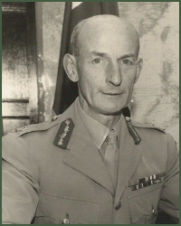 Portrait of Major-General Charles Ernest Rickards Hirsch