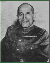 Portrait of General Takashi Hishikari