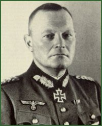 Portrait of Colonel-General Erich Hoepner
