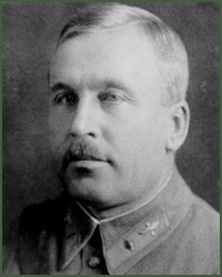 Portrait of Major-General of Aviation Aleksei Pavlovich Ionov