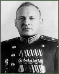 Portrait of Major-General of Tank-Engineering Service Nikolai Pavlovich Iukin