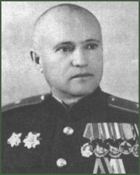 Portrait of Major-General of Tank Troops Nikolai Aleksandrovich Iuplin