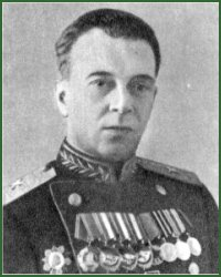 Portrait of Major-General Evgenii Iakovlevich Iusternik
