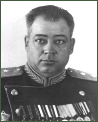 Portrait of Lieutenant-General of Aviation Afanasii Zinovevich Karavatskii
