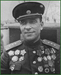 Portrait of Marshal of Tank Troops Mikhail Efimovich Katukov