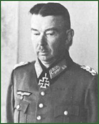 Portrait of General of Panzer Troops Werner Kempf
