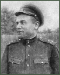 Portrait of Major-General of Tank Troops Nikolai Grigorevich Kladovoi