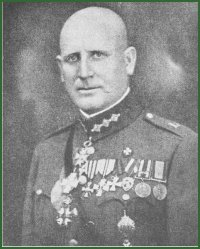 Portrait of General Rūdolfs Klinsons