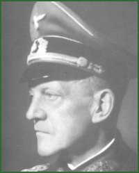 Portrait of Colonel-General Georg Lindemann
