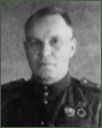 Portrait of Major-General of Aviation Nikolai Ivanovich Loginov