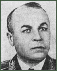 Portrait of Colonel-General of Aviation-Engineering Service Prokhor Alekseevich Losiukov
