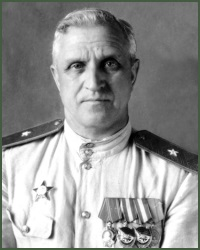 Portrait of Major-General of Aviation Nikolai Georgievich Lovtsov