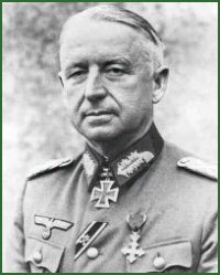 Portrait of Field Marshal Erich von Manstein