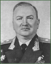 Portrait of Lieutenant-General of Aviation Aleksei Ivanovich Mitenkov