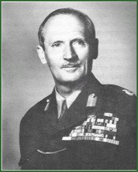 Portrait of Field Marshal Bernard Law Montgomery