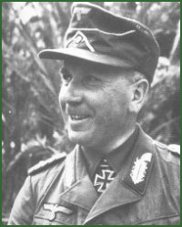 Portrait of General of Panzer Troops Walther K. Nehring