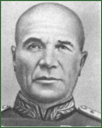 Portrait of Colonel-General of Tank Troops Viktor Timofeevich Obukhov