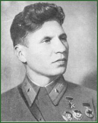 Portrait of Colonel-General of Aviation Fedor Petrovich Polynin