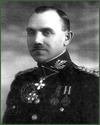 Portrait of Brigadier-General Klemensas Popeliučka