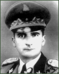 Portrait of Brigadier-General Pervizi Prenk