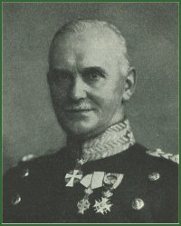 Portrait of General Wilhelm Wain Prior