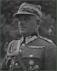 Portret generała brygady Marian Roman Przewłocki