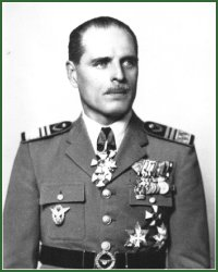 Portrait of Lieutenant-General Béla Rákosi