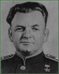 Portrait of Colonel-General of Tank Troops Aleksei Grigorevich Rodin