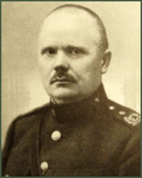 Portrait of Major-General Tõnis Rotberg