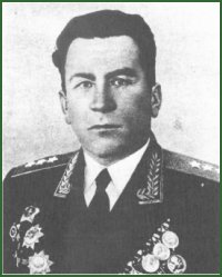 Portrait of Colonel-General of Aviation Andrei Gerasimovich Rytov