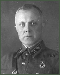 Portrait of Major-General of Tank Troops Rodion Nikanorovich Shabalin