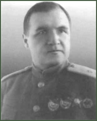 Portrait of Lieutenant-General of Aviation Iakov Stepanovich Shkurin