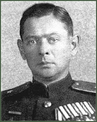 Portrait of Colonel-General of Tank Troops Georgii Stepanovich Sidorovich