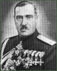 Portrait of Lieutenant-General Stefan Tsanev Tsanev