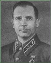 Portrait of Major-General of Tank Troops Aleksandr Vasilevich Tsinchenko