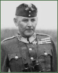 Portrait of Major-General István Újszászy